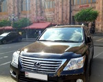 Rent Lexus LX570 in Yerevan